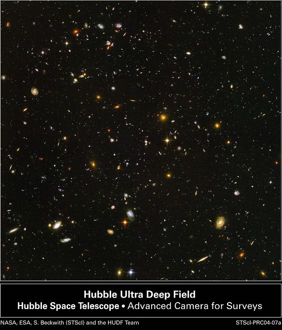 hubble looks at nothing - photo #10