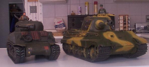 King tiger tank vs sherman - photo#21