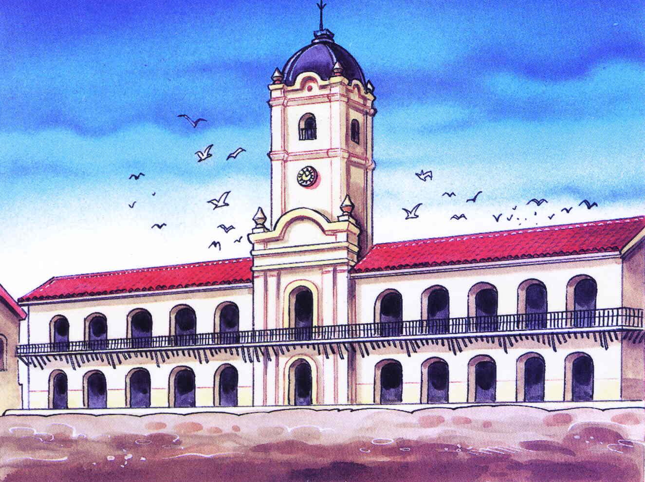 El cabildo ayer y hoy for Casas de la epoca actual