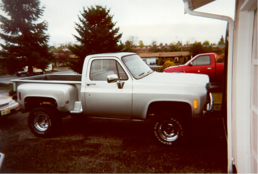 77 chevy stepside