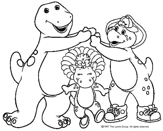 BARNEY THE DINOSAUR\'S PAGE