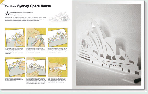 origami sydney opera house instructions