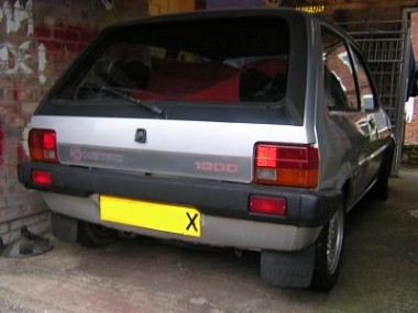 The Silver Mk1 Mg Metro 1300