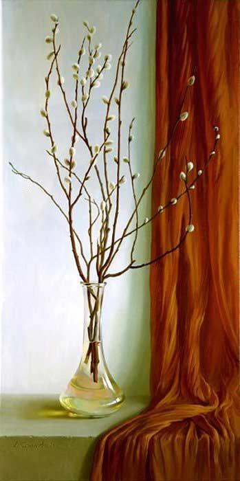 ASSESORIS INTERIOR -- Lukisan -- Bunga