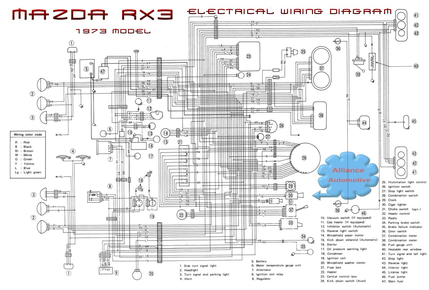 Mazda 3 Horn Wiring Diagram 27 Images Train Air Horns Diagrams Rx3w4 How Do I Fix My Electrical Problems 2013 20