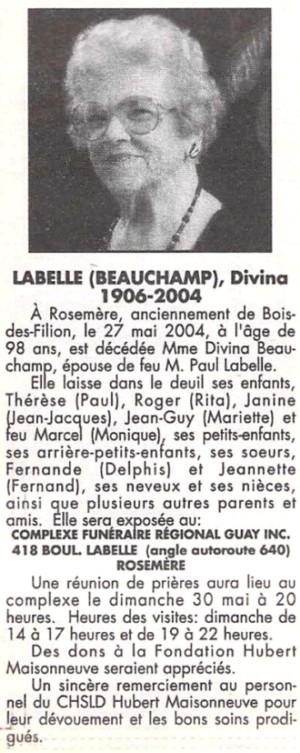 184112 Paul Labelle Divina Beauchamp