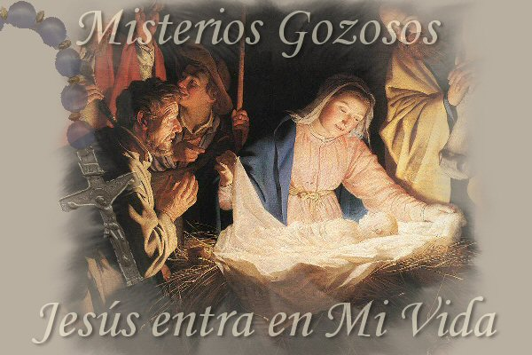 Imagen de SANTO ROSARIO-MISTERIOS GOZOSOS
