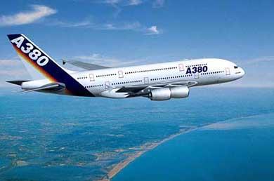 Historic Flight Air Bus A380