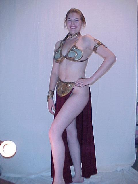 pictures bikini Princess metal leia