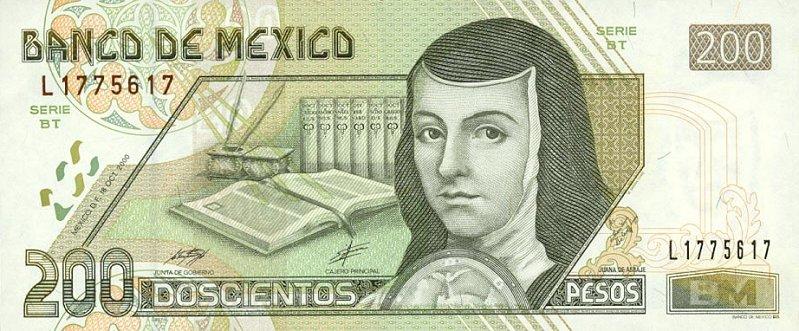 Billetes de Doscientos Pesos Billete de Doscientos Pesos