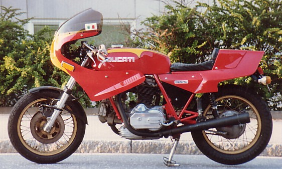 ducati 860 gts 1976