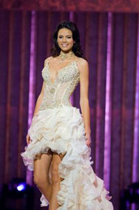 Heather Anderson, Miss Utah USA 2007, poses at the