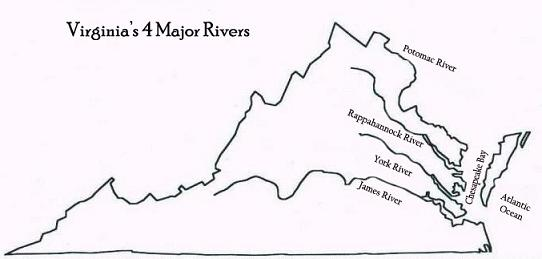 Virginia39s Geography