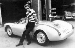 James Dean Porche 1955 550 Spyder