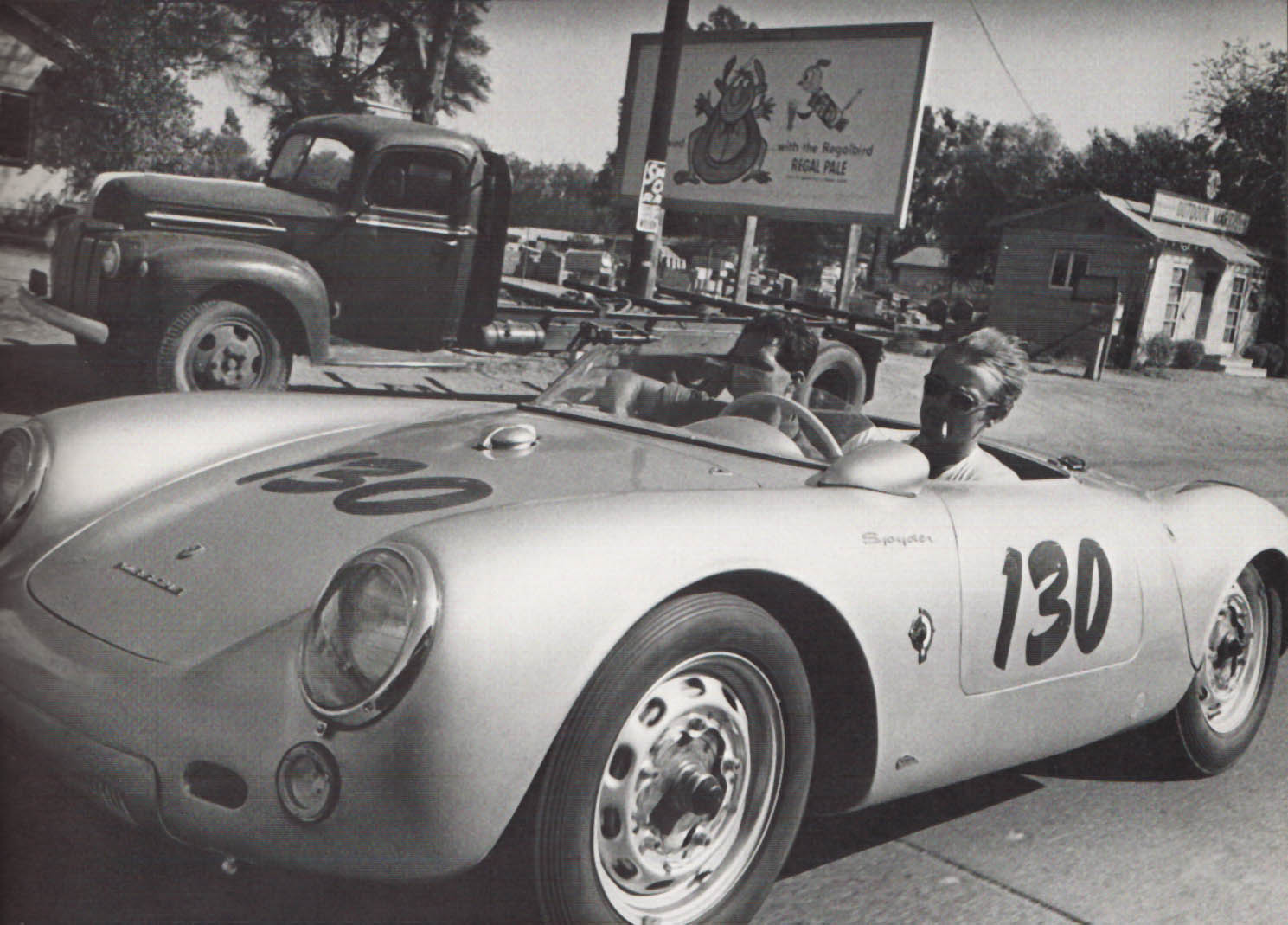 James Dean Porche 1955 550 Spyder