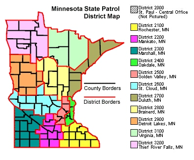 State MSP Map
