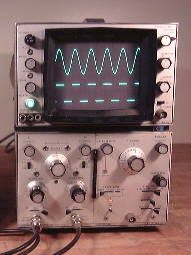 Dual Trace Oscilloscope : Mike s test equiment