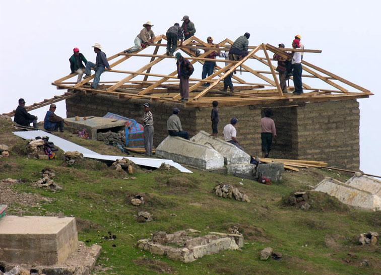 elsewhere in guate construyendo casa san mateo ixtatan