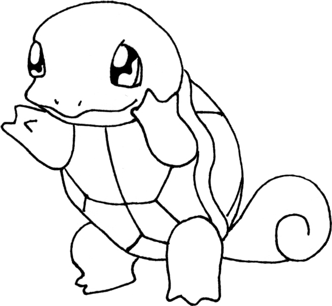 Squirttle Magikarp Nidoran (female): http://www.geocities.ws/moma_dee/color.htm