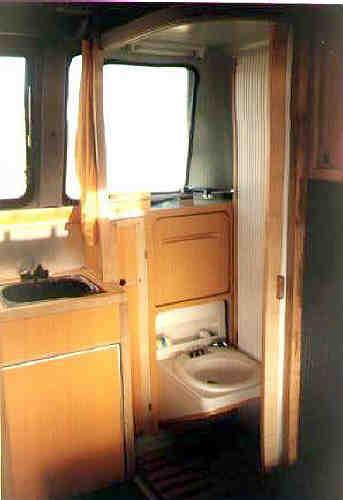 Essai paru dans camping car - Cabinet de toilette avec eau courante ...