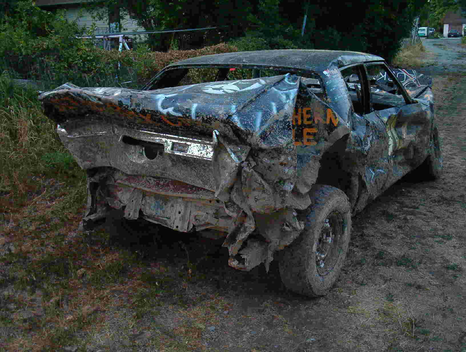 Building Demolition Derby Car : Mr magic demolition derby model design
