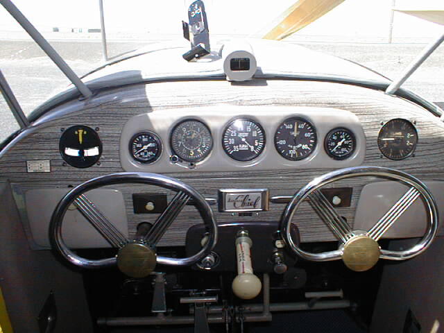 The Blueprint For The Aeronca 11 Series Instrument Panel