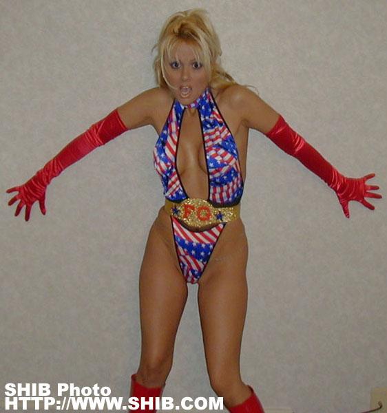 MS Americana Flag Girl