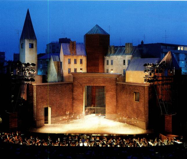 Le scenografie di aldo rossi for Aldo rossi il teatro del mondo