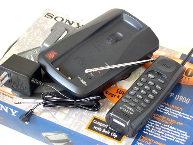 sony spp d900 compact digital cordless phone rh geocities ws sony 900 mhz cordless phone manual sony 900 mhz cordless phone manual