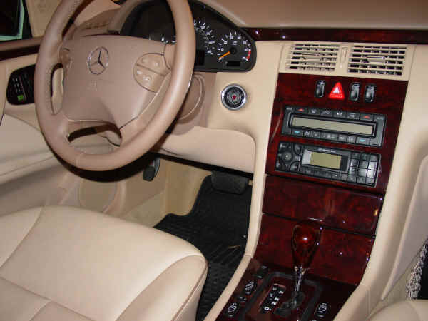 How To Reset Garage Door Opener >> 2001 Mercedes-Benz E320 Interior Images: Java Interior