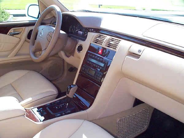 How To Reset Garage Door Opener >> 2001 Mercedes-Benz E320 Interior Images: Java Interior