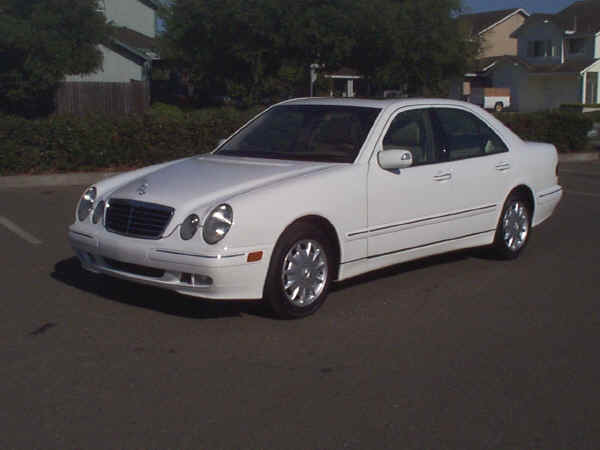 2001 mercedes benz e320 exterior images w oem alloy wheels