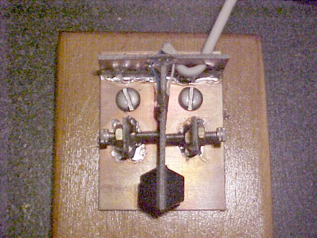 Homebrew CW Paddles - N2UHC's Radio Stuff