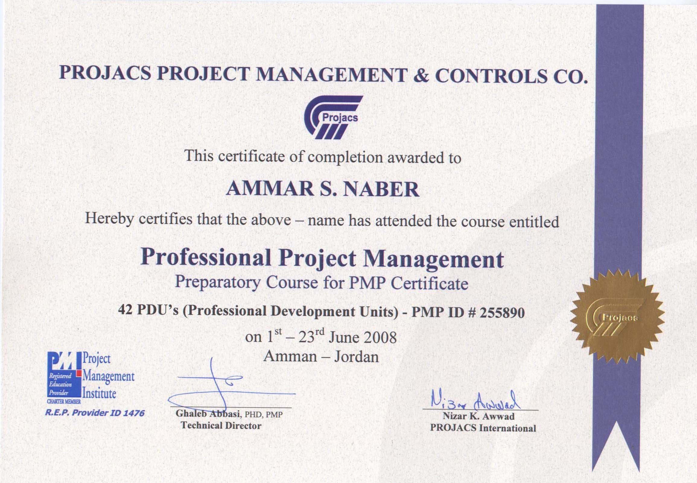 Ammar naber cv architect engineer pmp project management profession 1betcityfo Gallery