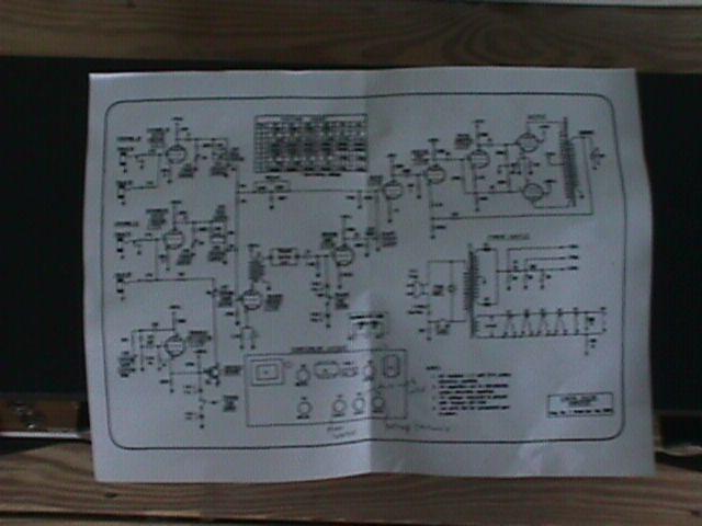 xerox'ed 8x11 schematic