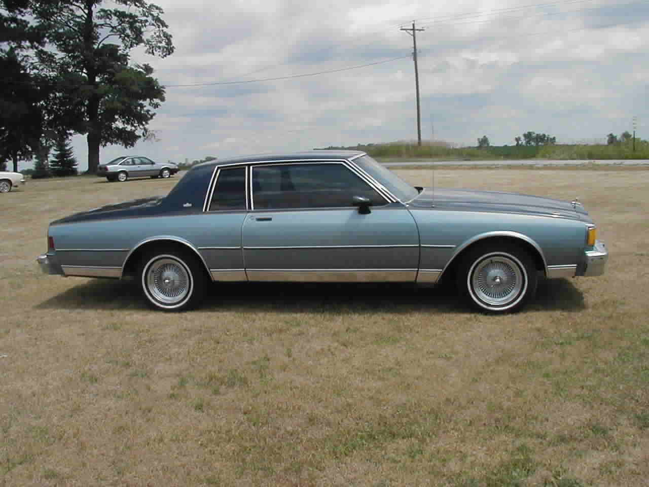 1985 caprice classic two tone coupe geocities ws