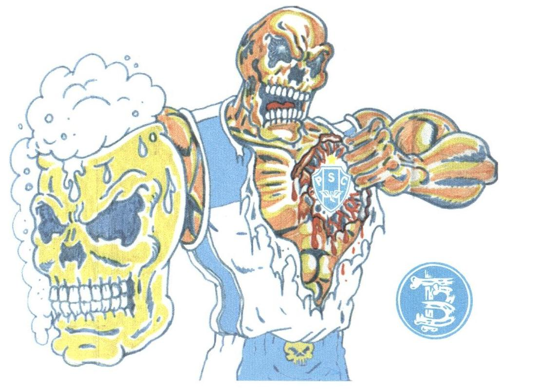 Desenhos Da Terror Bicolorby Márcio Caveira
