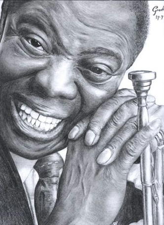 louis armstrong coloring page - pin louis armstrong coloring pages on pinterest