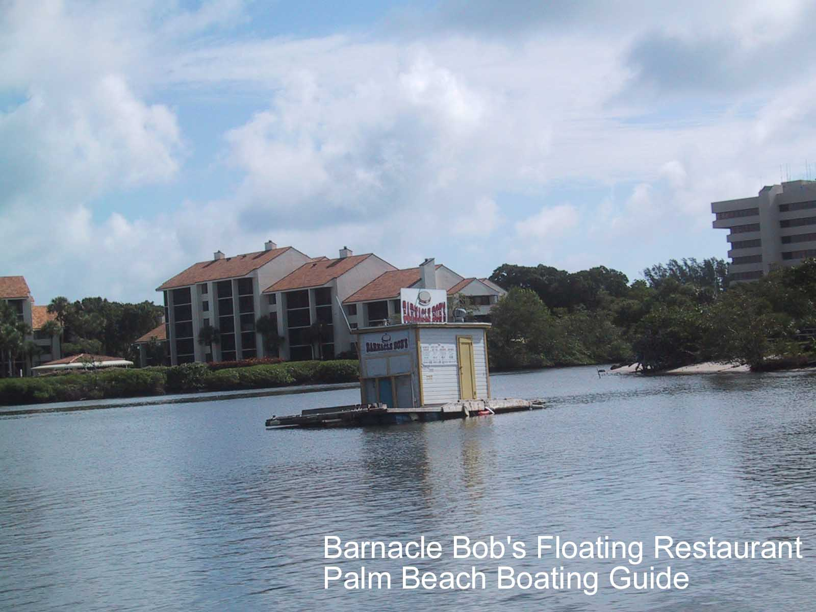 Photos of floating restaurants on the intracoastal waterway in jupiter