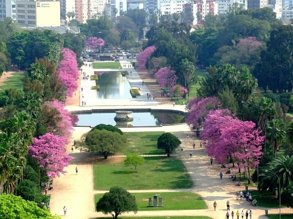 jardim ipe porto alegre:Por Dentro em Rosa: Sou contra cercar o Parque da Redenção