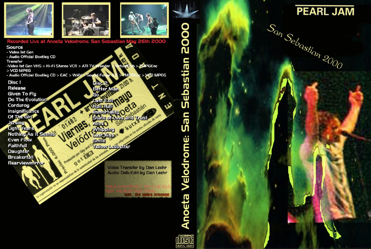 Jotanar's Pearl Jam Stuff to Trade