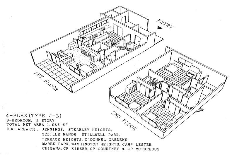 floorm3bjpg – Okinawa Base Housing Floor Plans