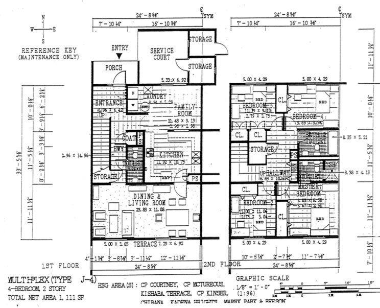 floorm4b1jpg – Camp Foster Housing Floor Plans