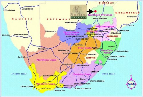 limpopo river on map pr energy