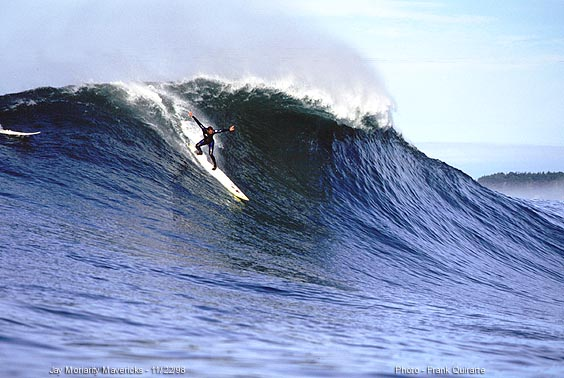 Quik \'The Men who Ride Mountains\' contest at Mavericks