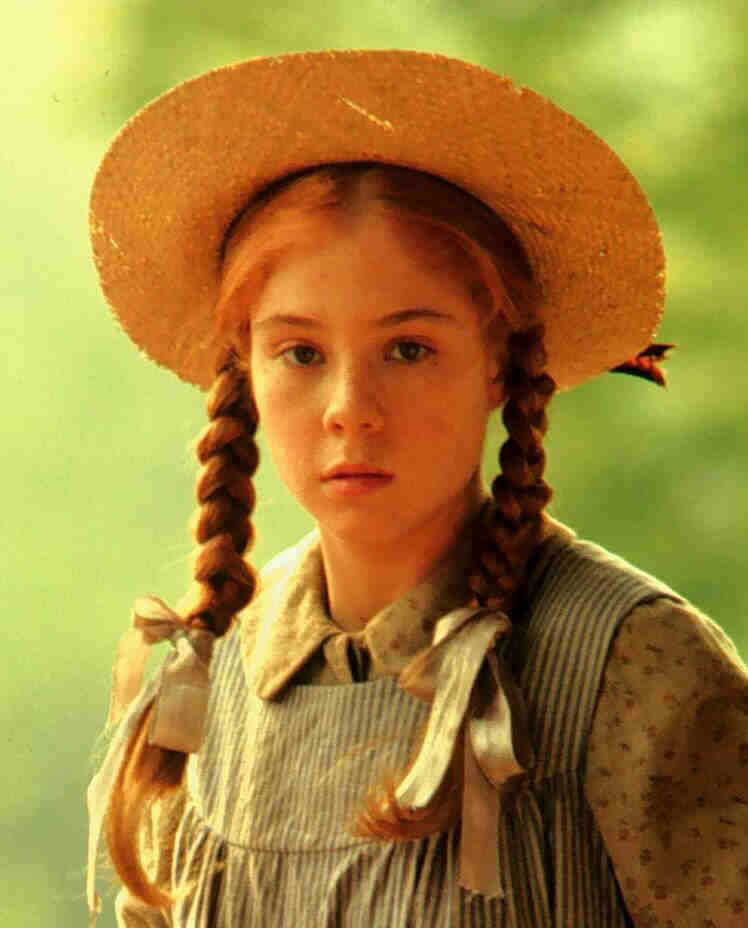 Megan follows protagonista de ana de las tejas verdes for Anne maison aux pignons verts