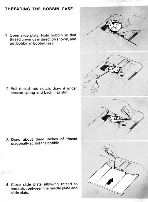 Dressmaker Sewing Machine Threading Interesting How To Thread The Bobbin On A Dressmaker Sewing Machine