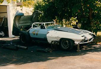 Mike Cobine's '66 Corvette Race Car