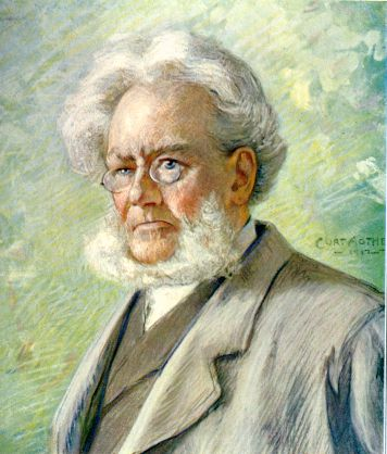 a comprehensive study of henrik ibsens life and literary works Henrik ibsen was born march 20th, 1828, at the little village of skien, in the  south of norway, where his father conducted an extensive business as a general  merchant  his first printed literary work is the poem 'hösten,' contained in the   with several associates he began, early in 1851, the publication of a weekly  paper.
