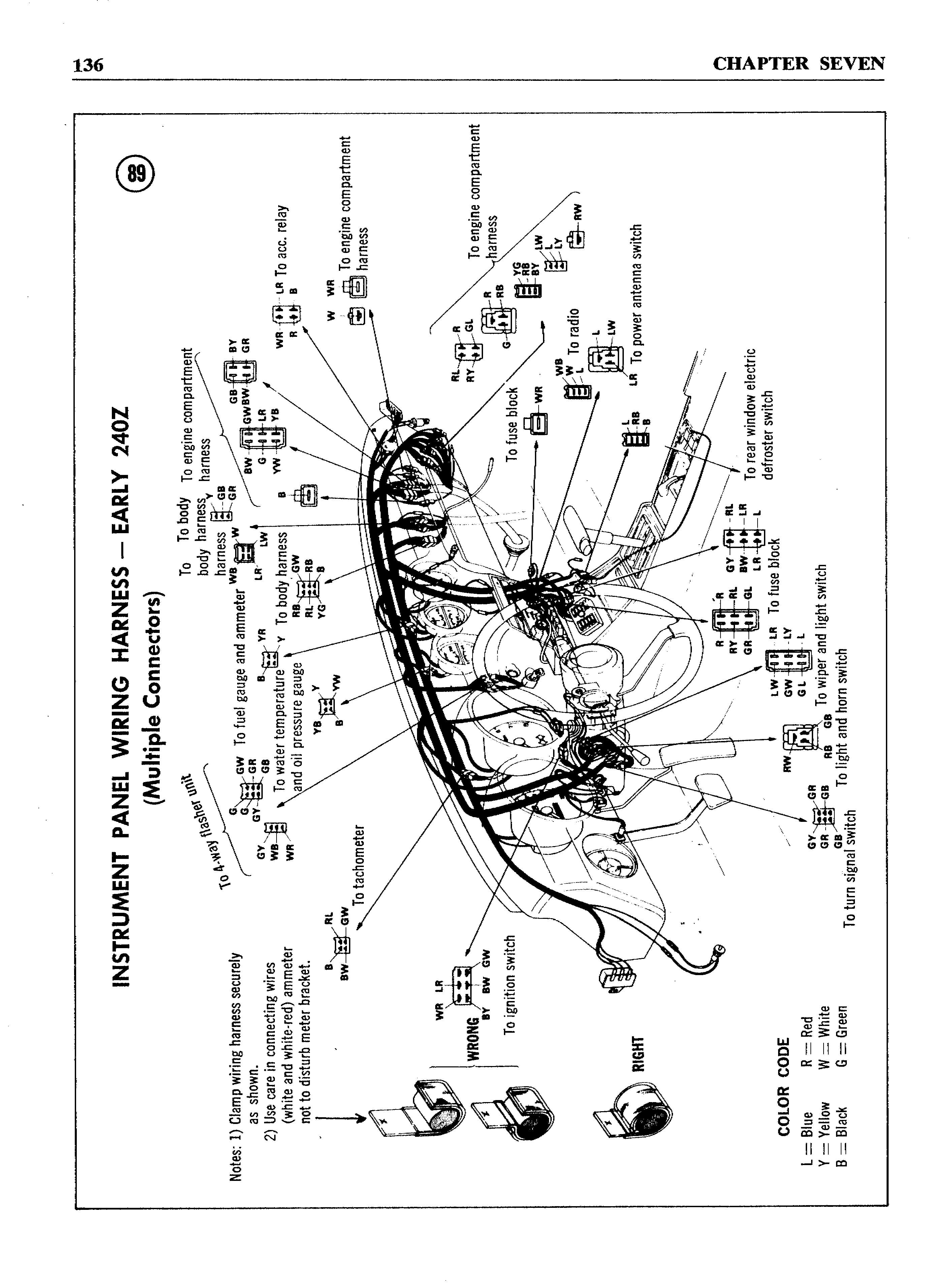 240z Wiring Harness Free Diagram For You Painless Images Gallery